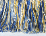 Blue and Yellow Fringe 2