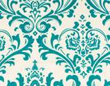 Premier Prints Traditions - True Turquoise